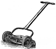 First Lawnmower