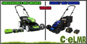 Greenworks vs Kobalt