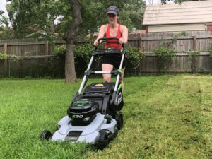 Lithium Lawnmower